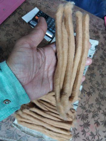 Brown Cotton Poonies